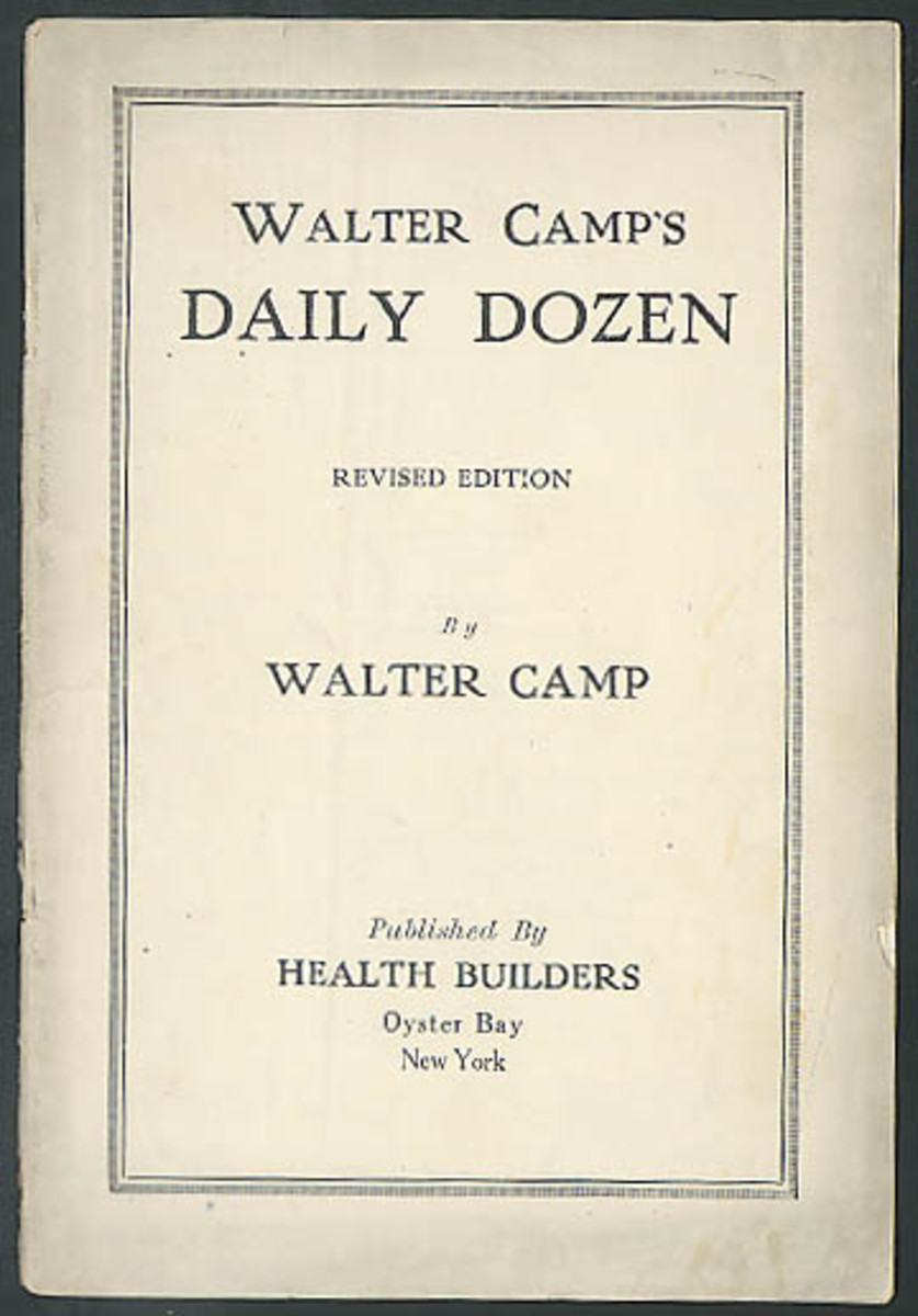 Pamphlet about dirty dozen exercises
