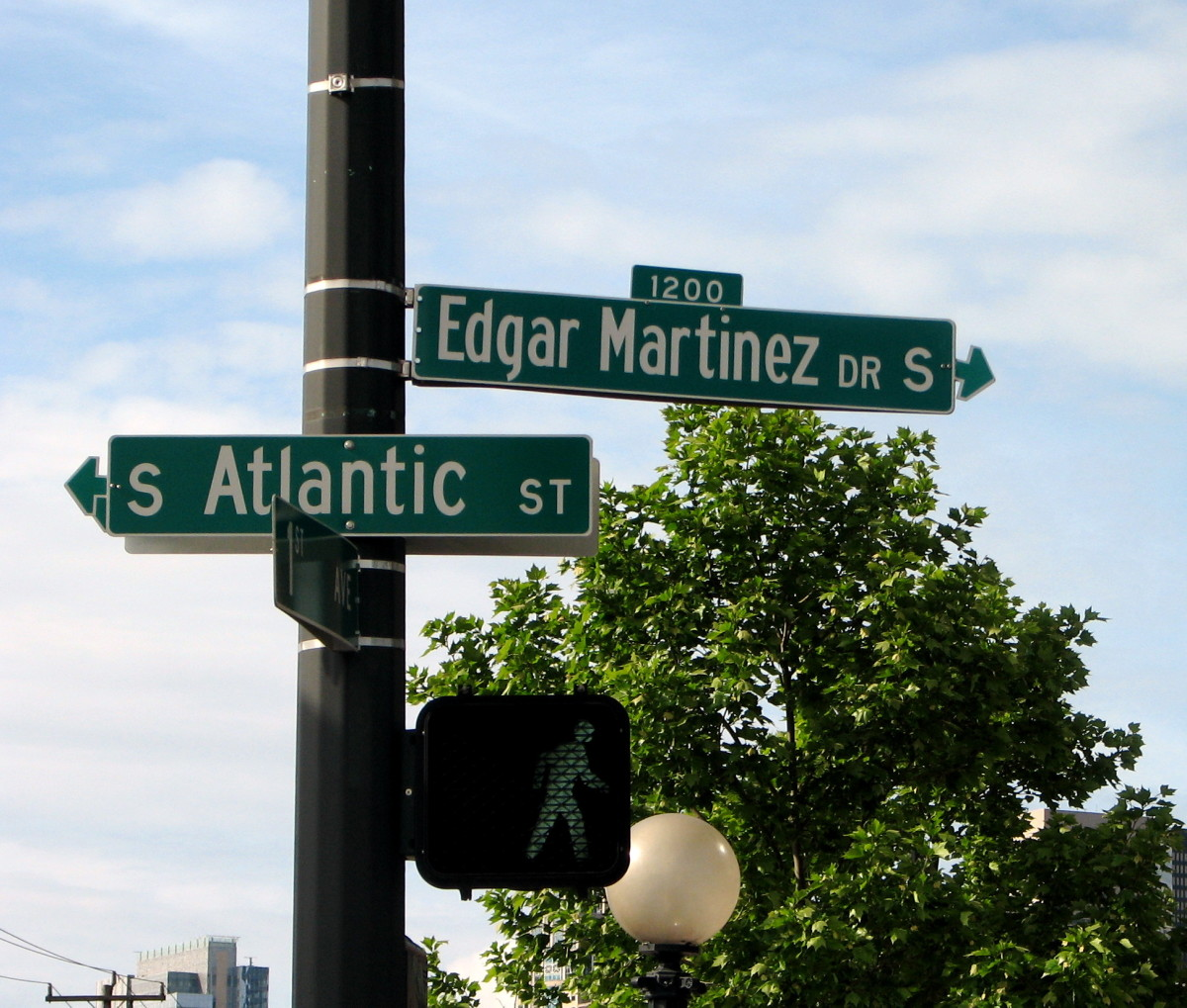 The city of Seattle renamed a short street near Safeco Field after former Mariners designated hitter, Edgar Martinez, who was later inducted into the Baseball Hall of Fame.
