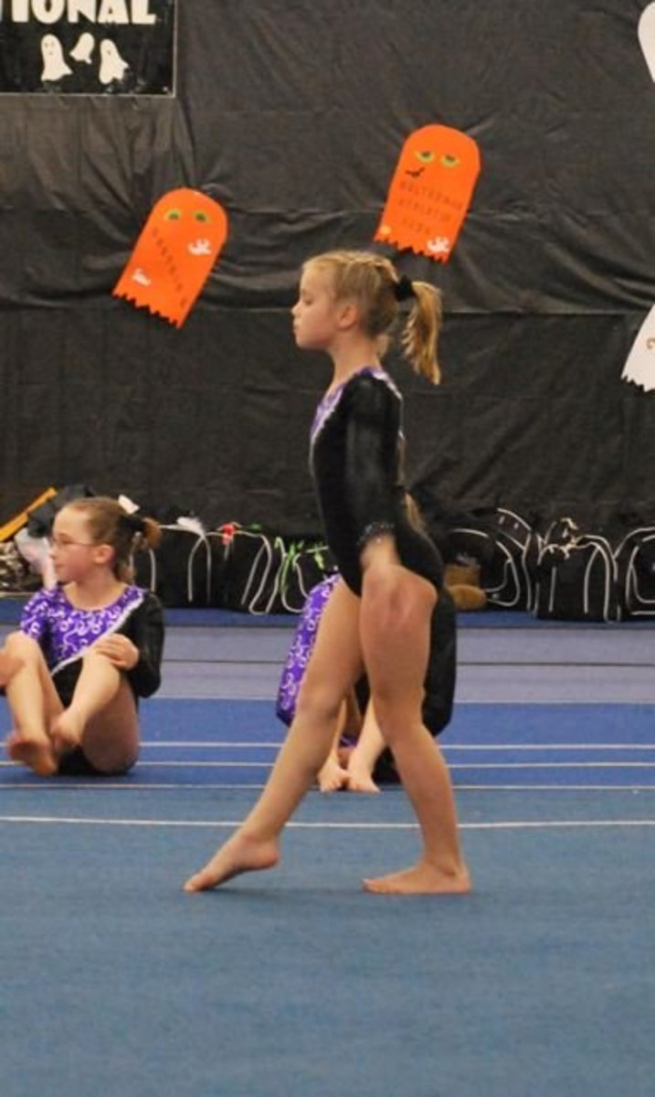 Level 5 gymnastics floor routine
