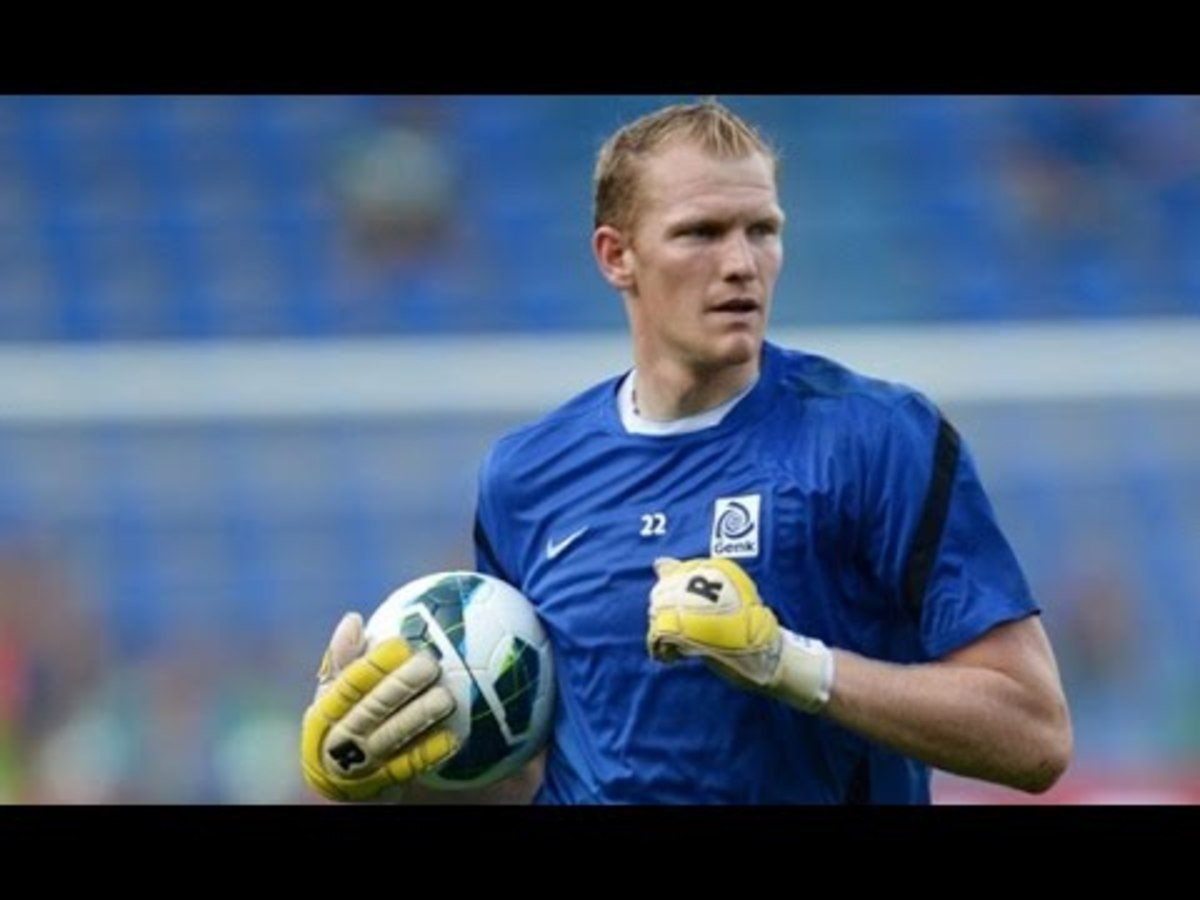 Kristof Van Hout has had an impressive 18 shutouts in the Belgian First Division A.