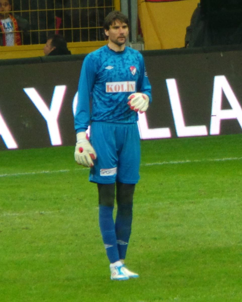 Vanja Ivesa holds the record for oldest player to compete in the Croatian First Football League at age 41.