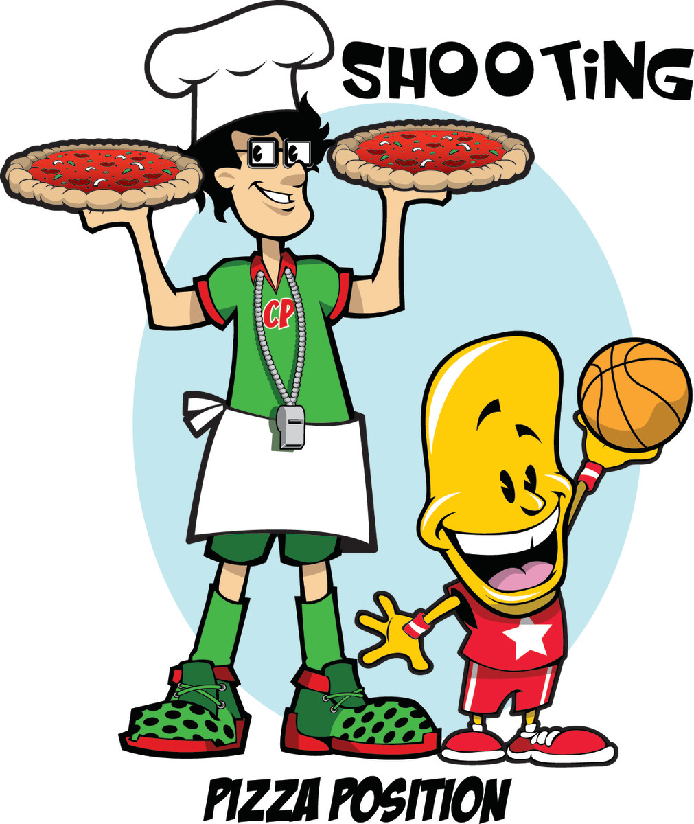 Shooting instruction, the Pizza Position