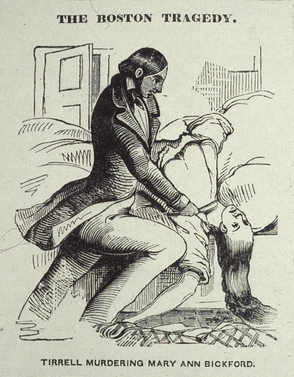 Albert Tirrell murdered his mistress in 1846 in Boston and is one of the first people to successfully use the sleepwalking defence.