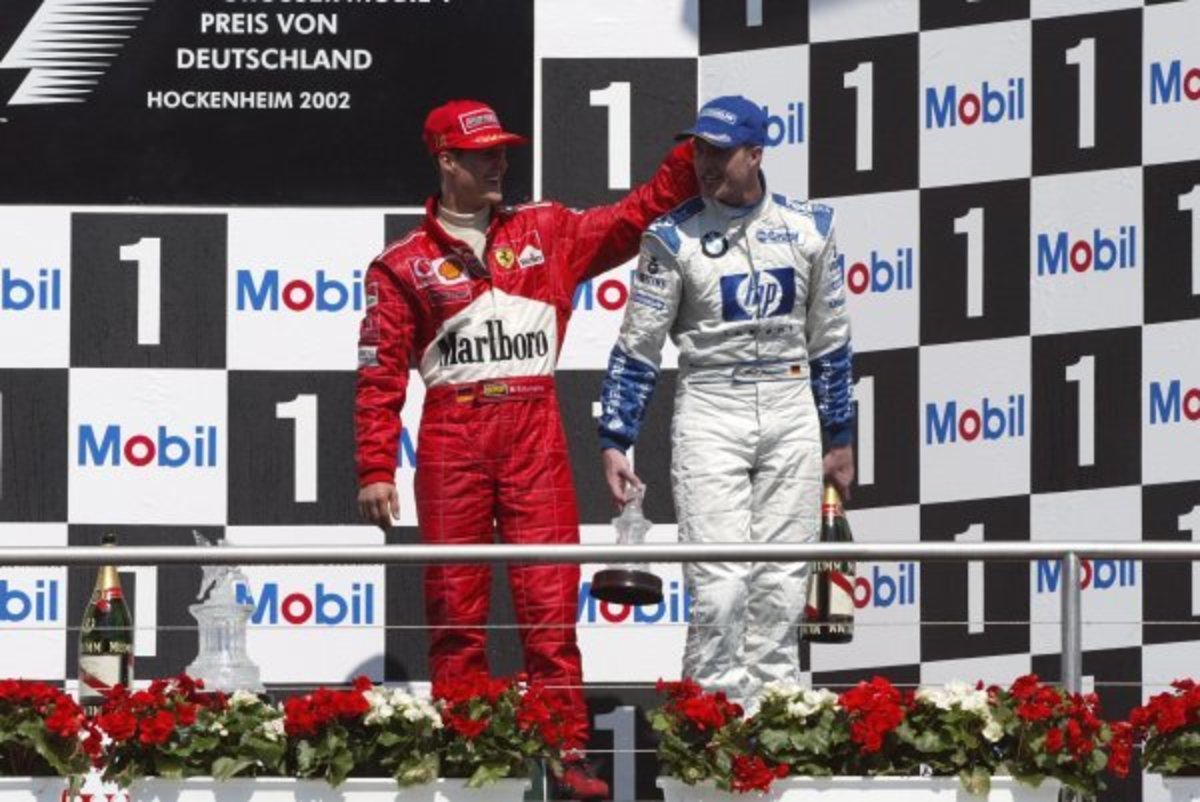 The 2002 German GP: Michael Schumacher's 62nd Career Win