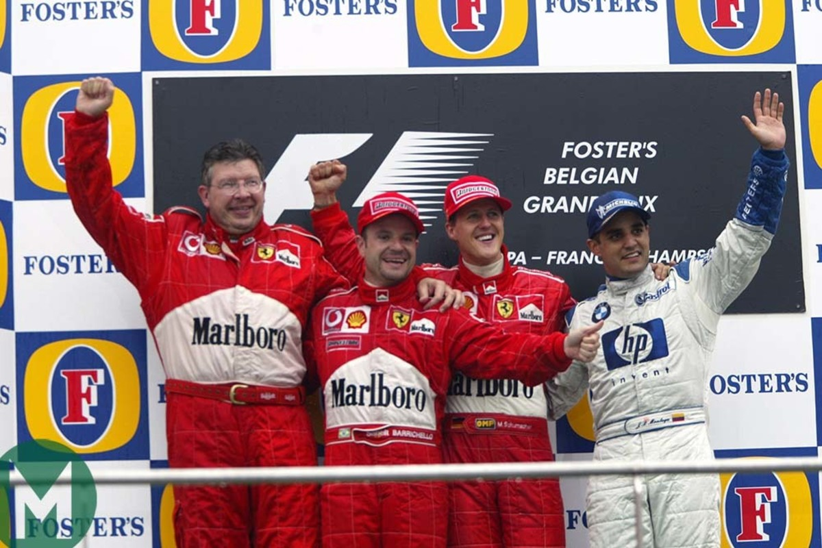 The 2002 Belgian GP: Michael Schumacher's 63rd Career Win