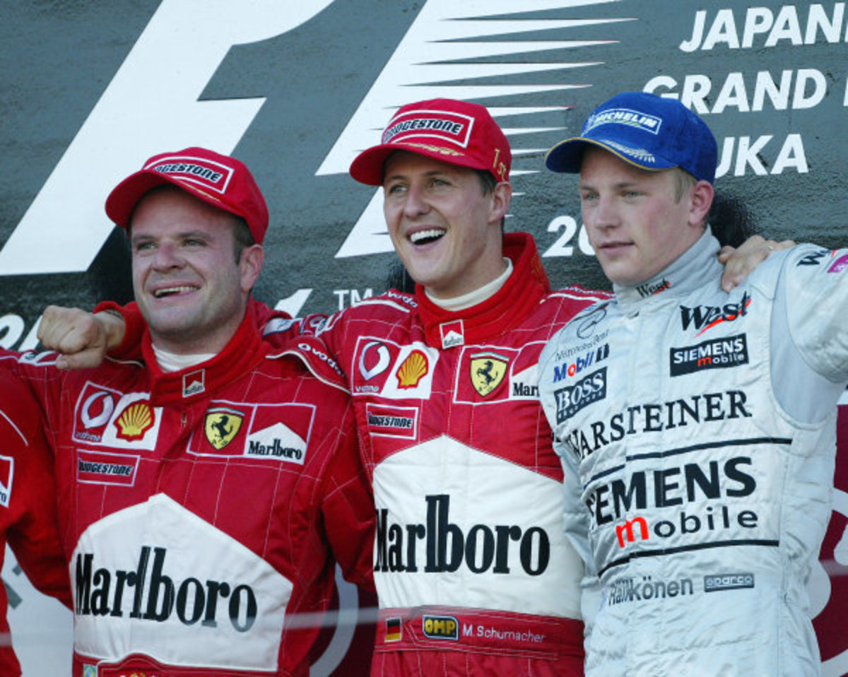 The 2002 Japanese GP: Michael Schumacher's 64th Career Win