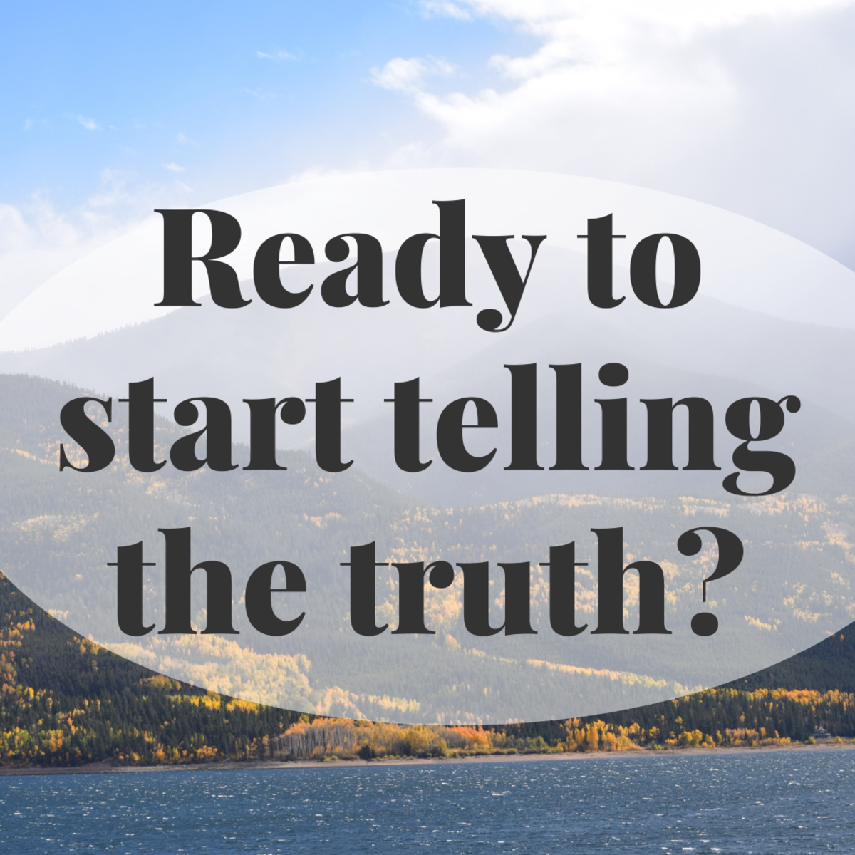 Pathological lying is the chronic behavior of compulsive or habitual lying. This article will show you what to do if you have told a lie.