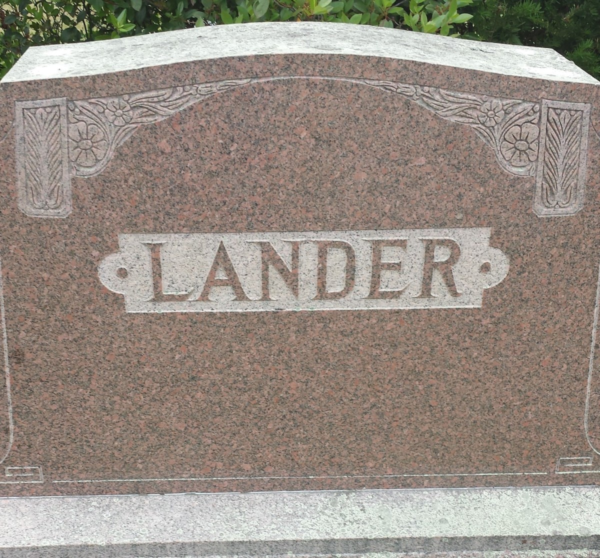 Headstone of one of the author's great aunts