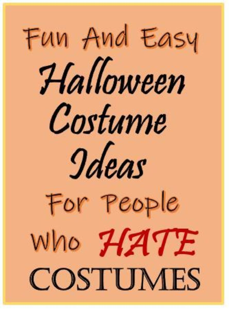 Fun and Easy Halloween Costume Ideas for People Who Hate Costumes