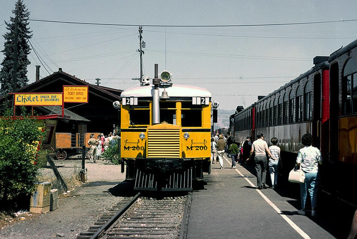 CW M200 railbus, circa 1966