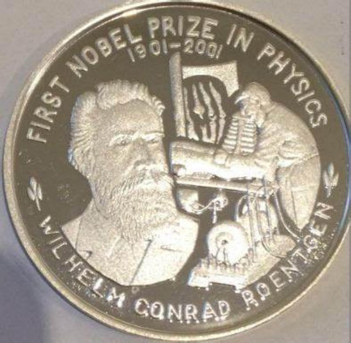 Wilhelm Röntgen's Nobel Prize