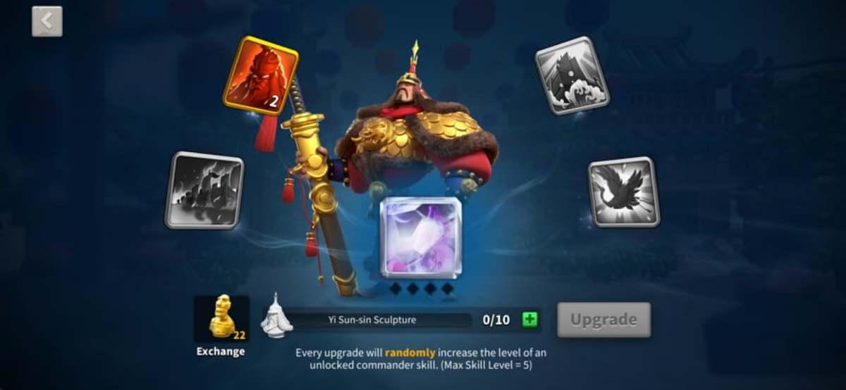 Yi Sun-Sin's Skills Page