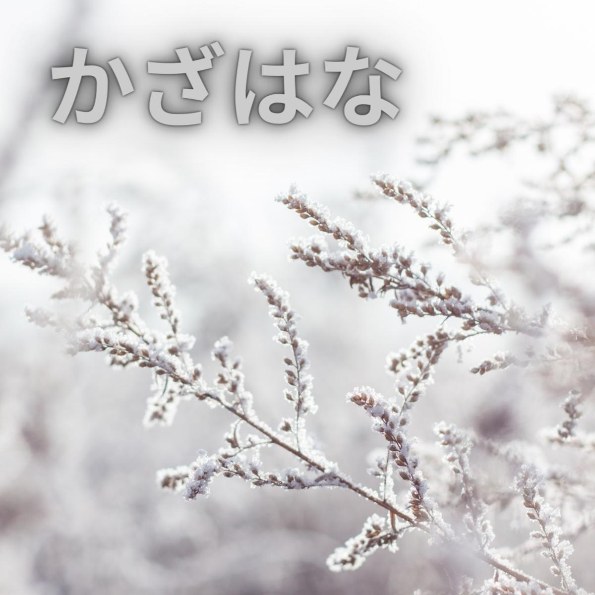 Kazahana or snow flurry.