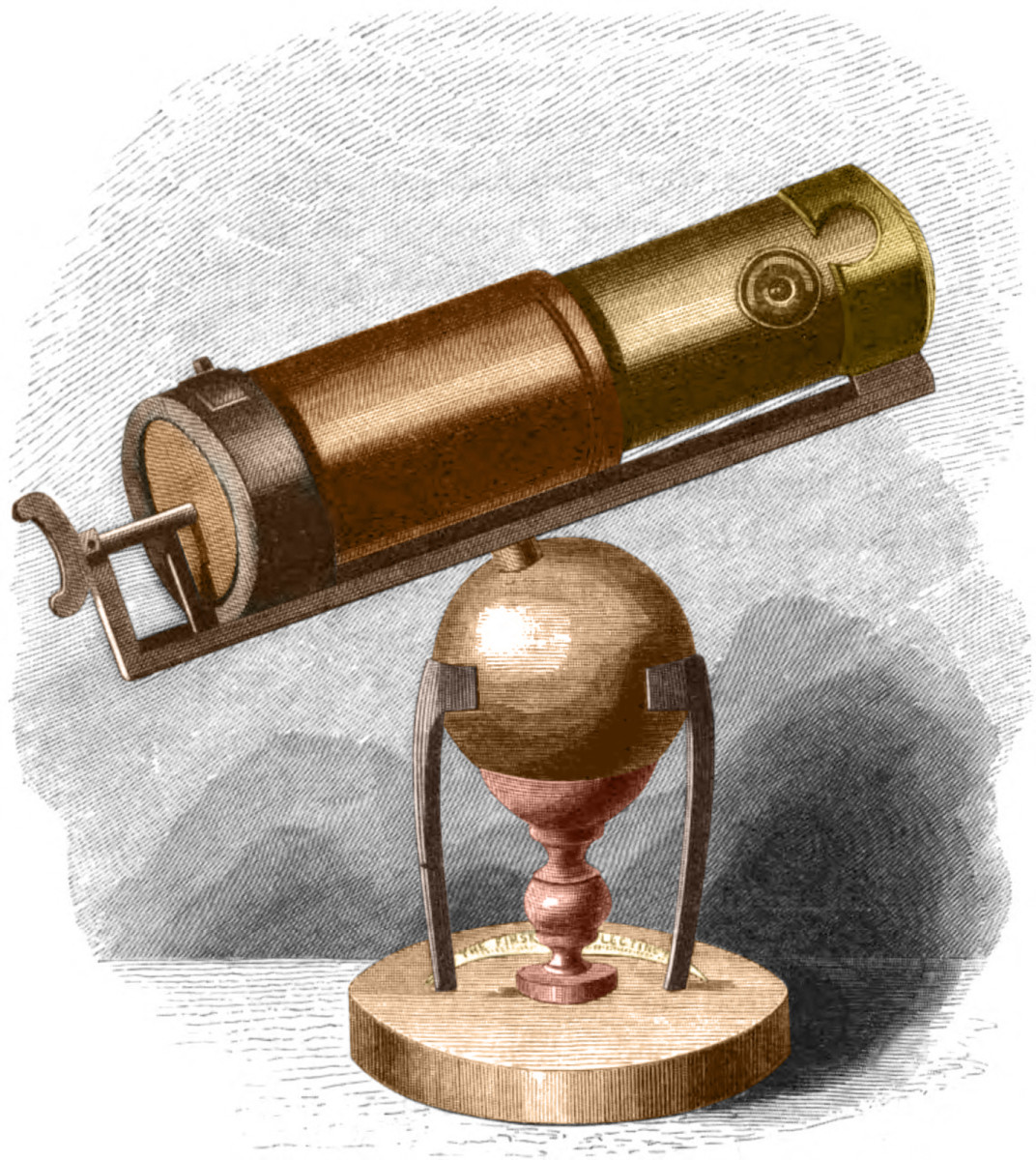 Newton's reflecting telescope.