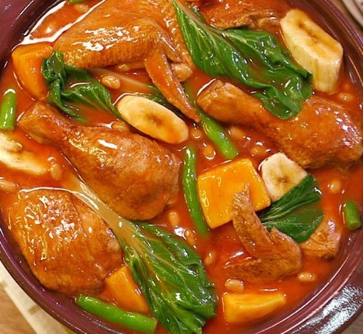 Pocherong Manok (Filipino Chicken Stew)