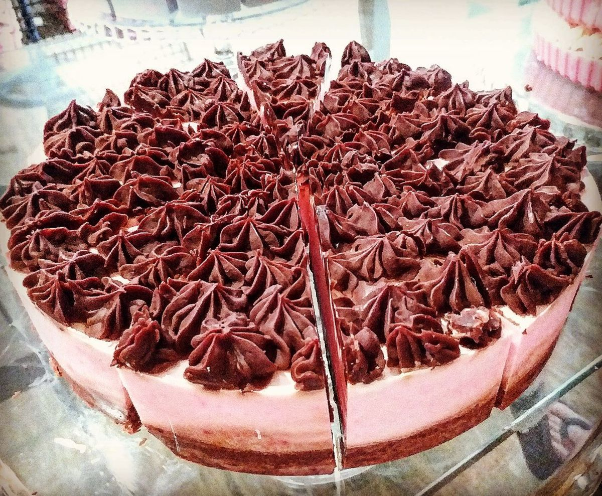 Strawberry and Chocolate Cream