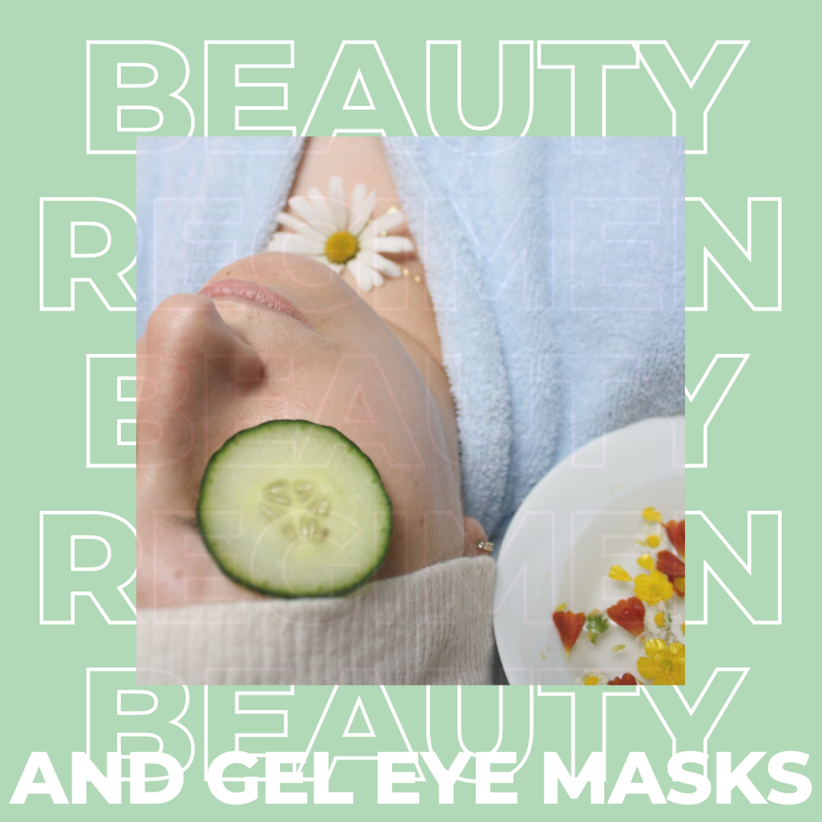 Adding an eye mask to your beauty regimen.