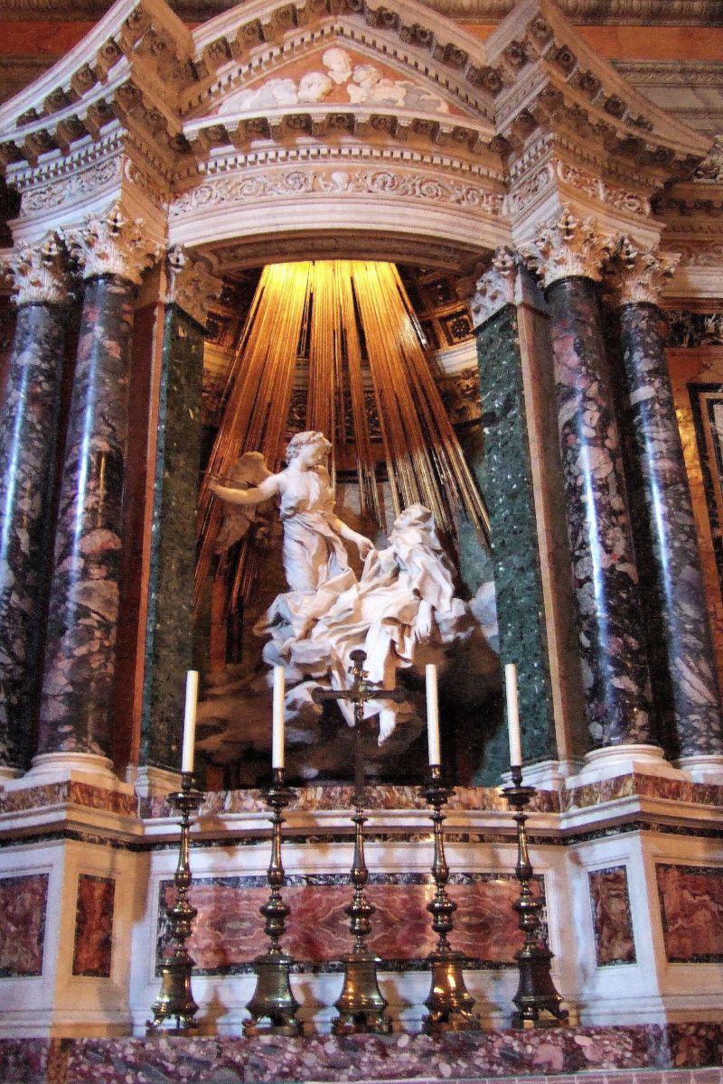 "Gian Lorenzo Bernini's ""The Ecstasy of Saint Teresa"""