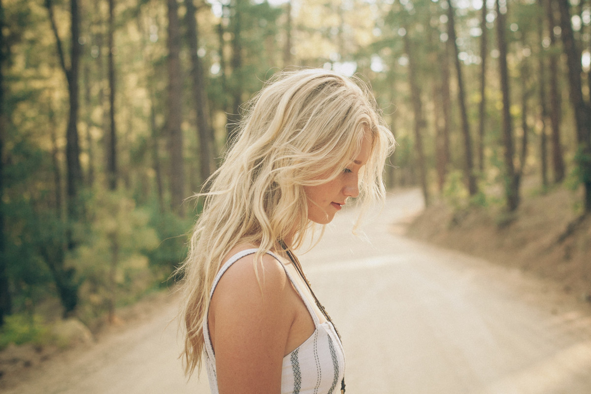 Beautiful blonde hair like this needs a lot of lightening and maintenance if you have naturally dark hair.