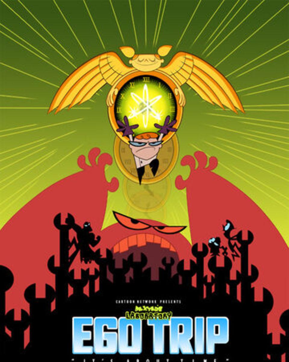 Dexter's Laboratory: Ego Trip Poster