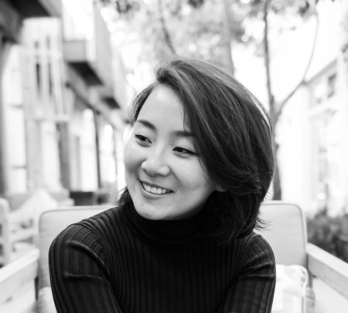 Marie Lu, the book's author
