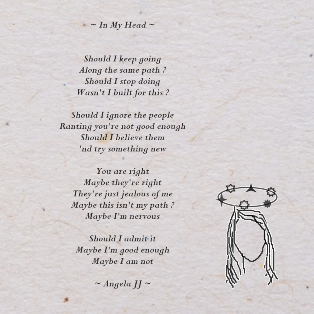 ~ In My Head poem ~