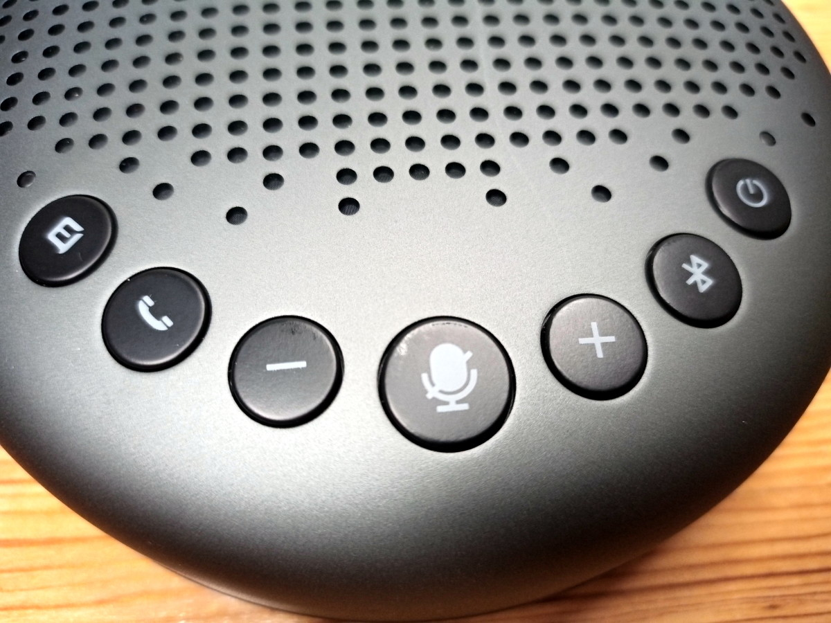 Control panel of eMeet Luna.