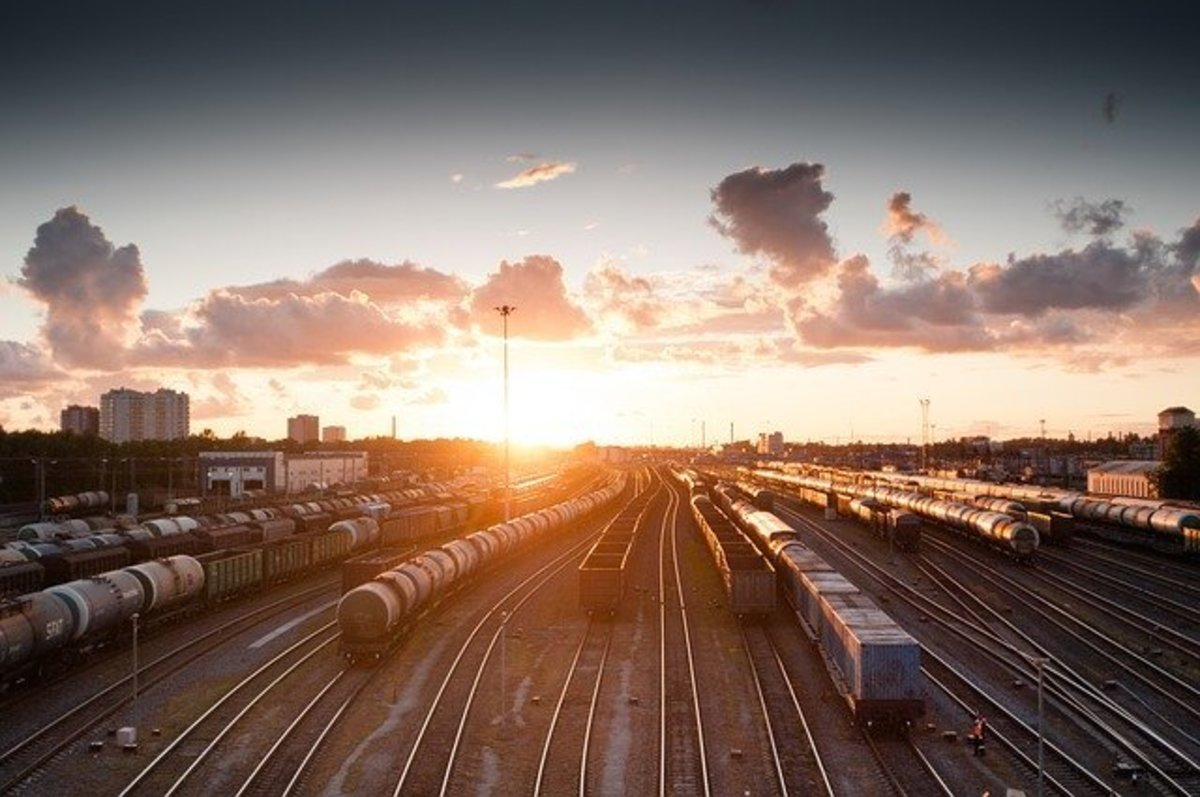 What is it like working as a conductor for the railroad?