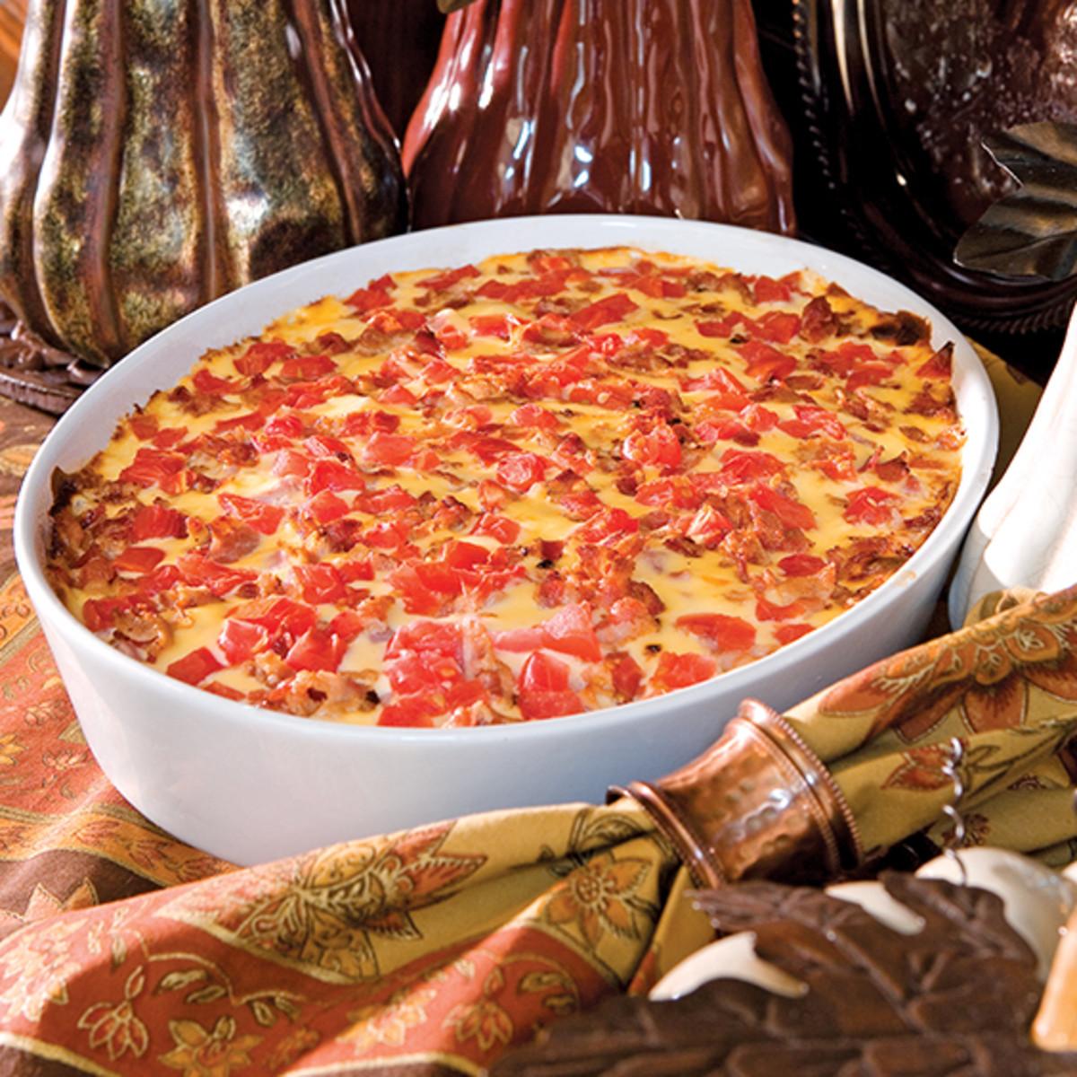 Hot brown casserole