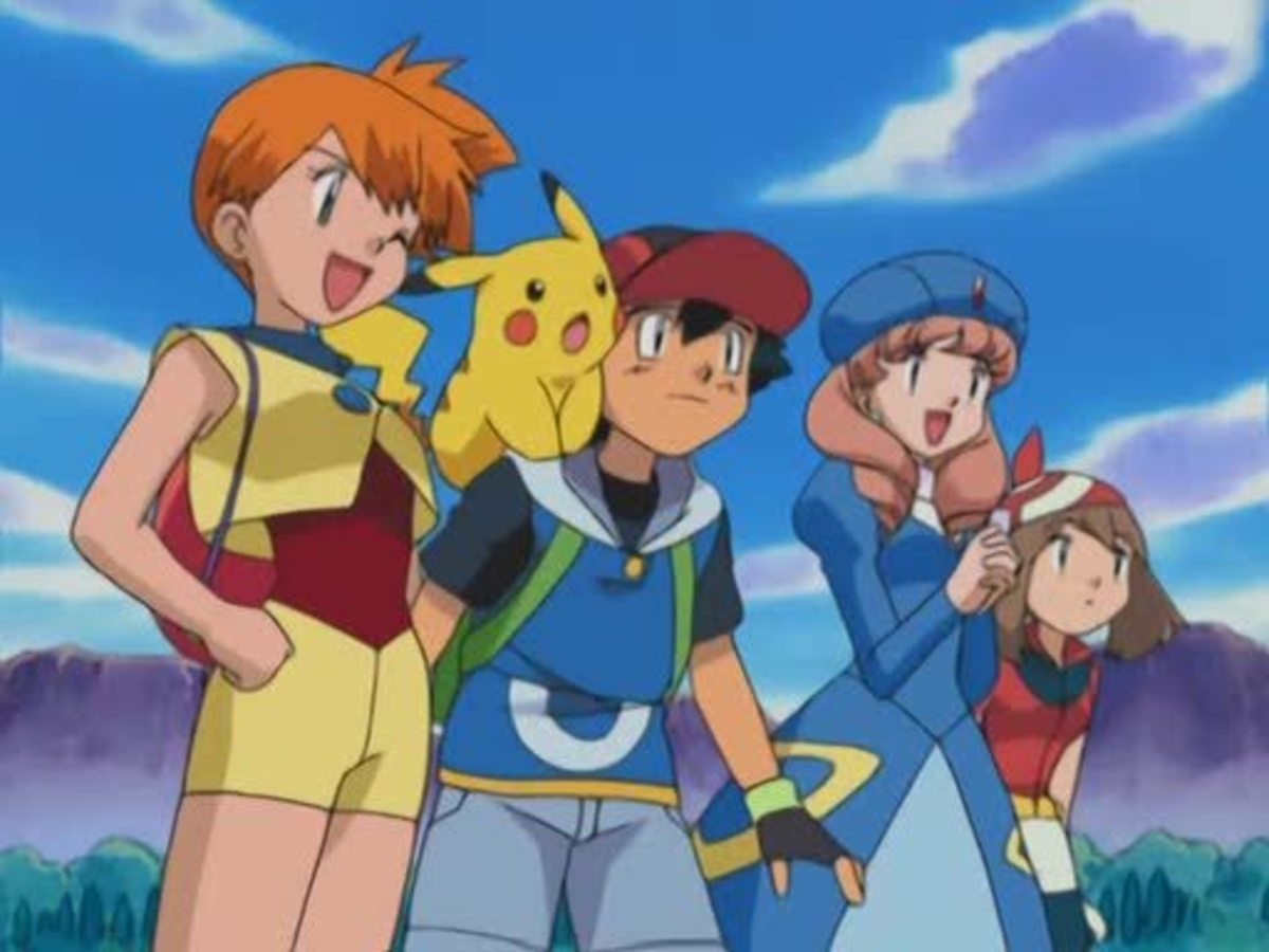 Misty and Ash in Hoenn