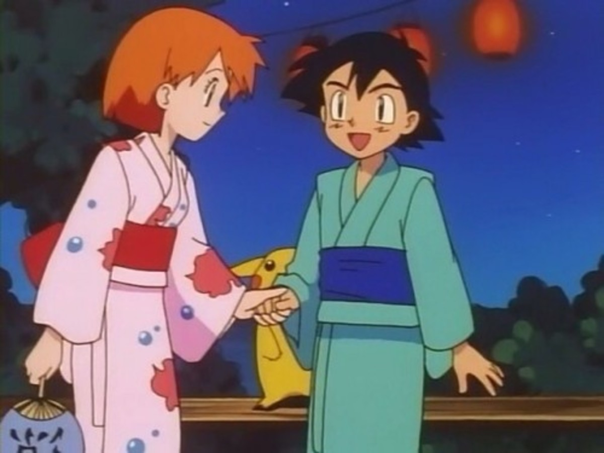 Misty invites Ash to dance