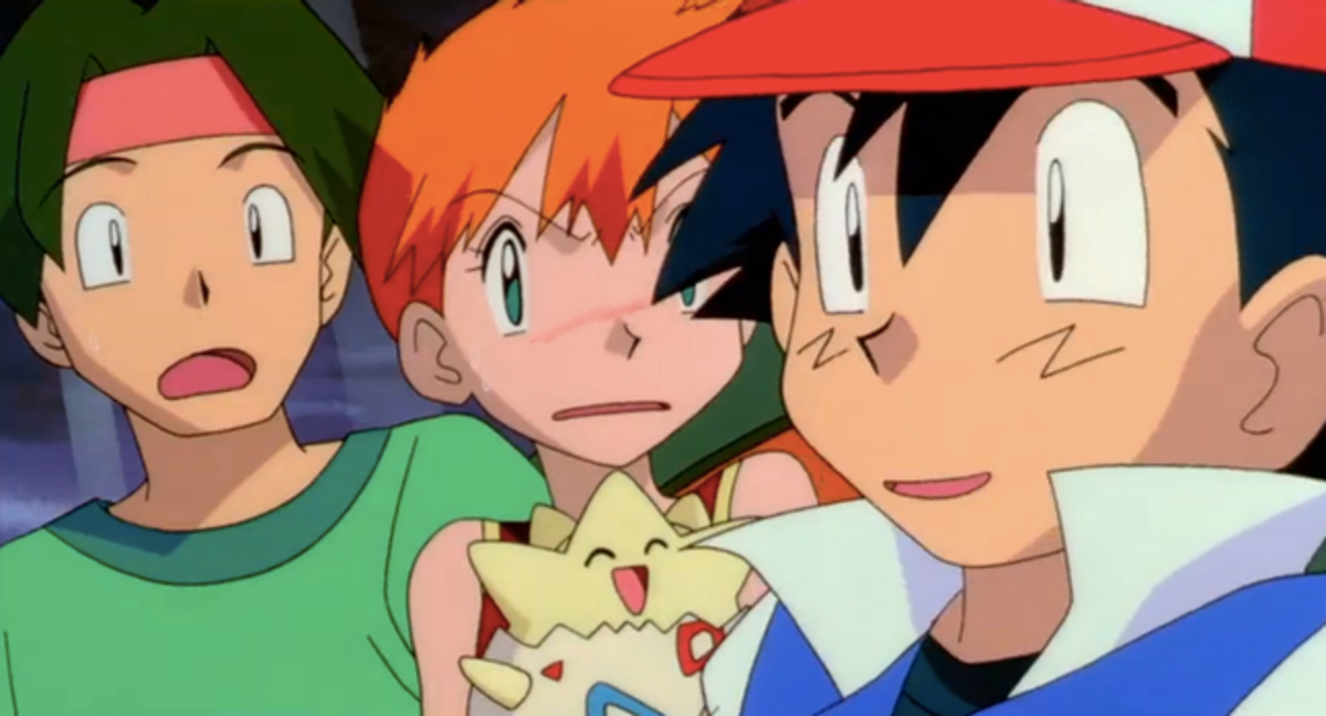 Misty's reaction