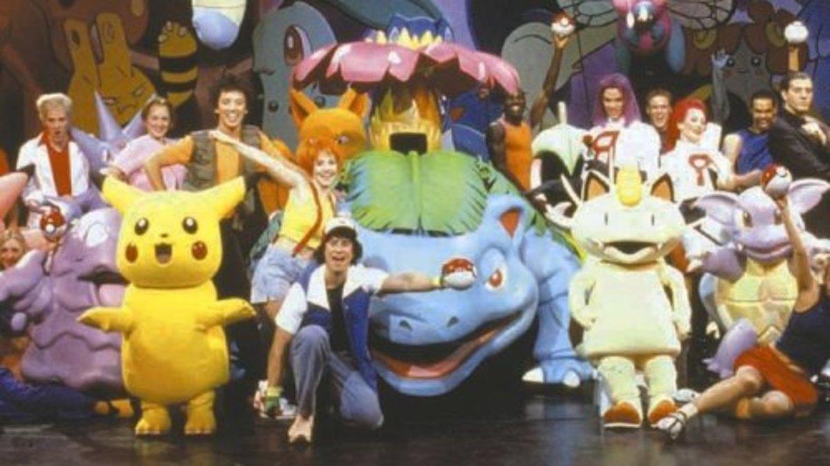 Pokémon Live! cast
