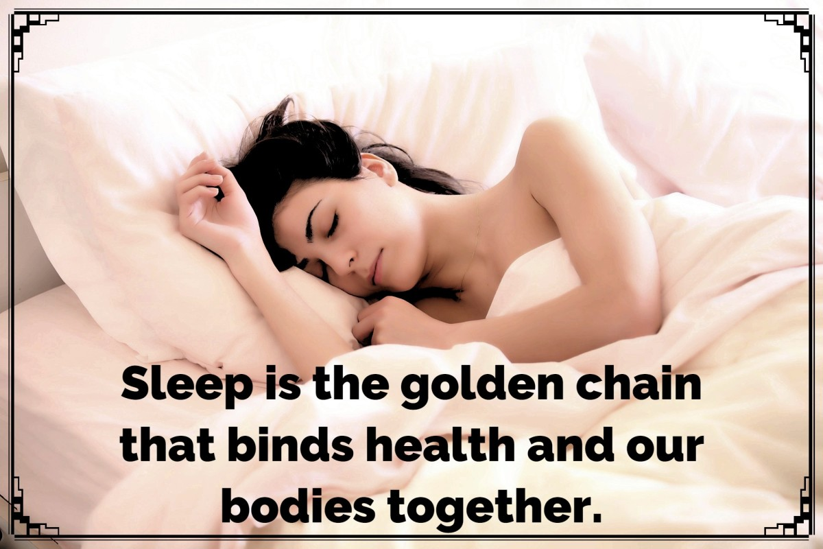 """Sleep is the golden chain that binds health and our bodies together."" - Thomas Dekker, American actor and director"