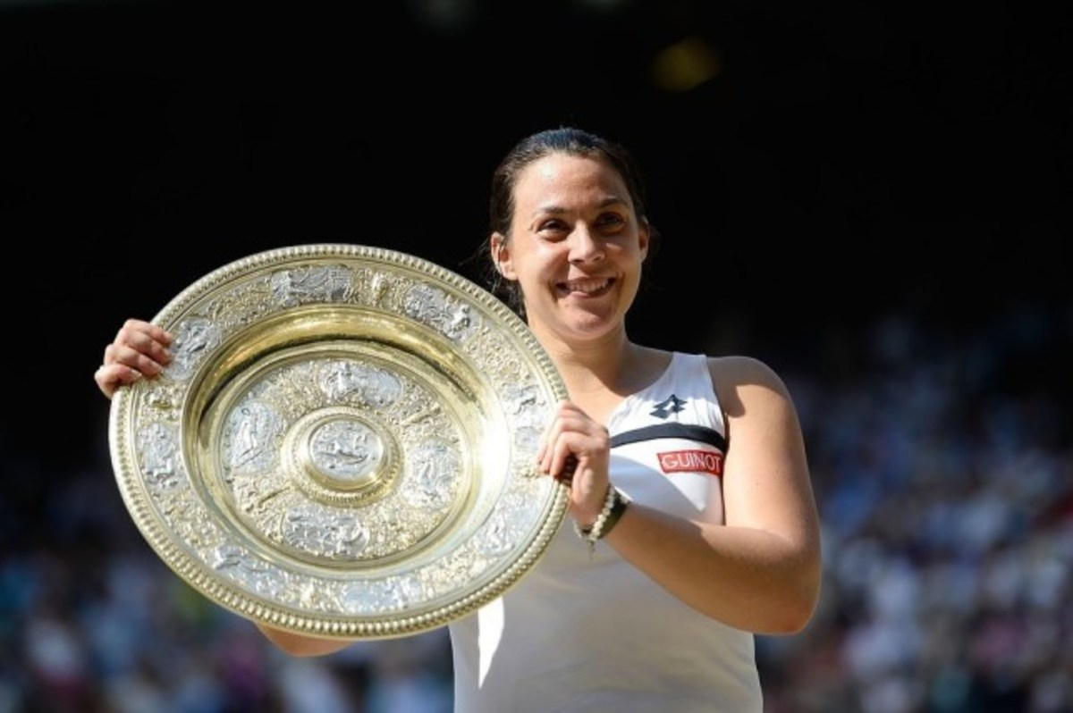 Wimbledon champion Marion Bartoli