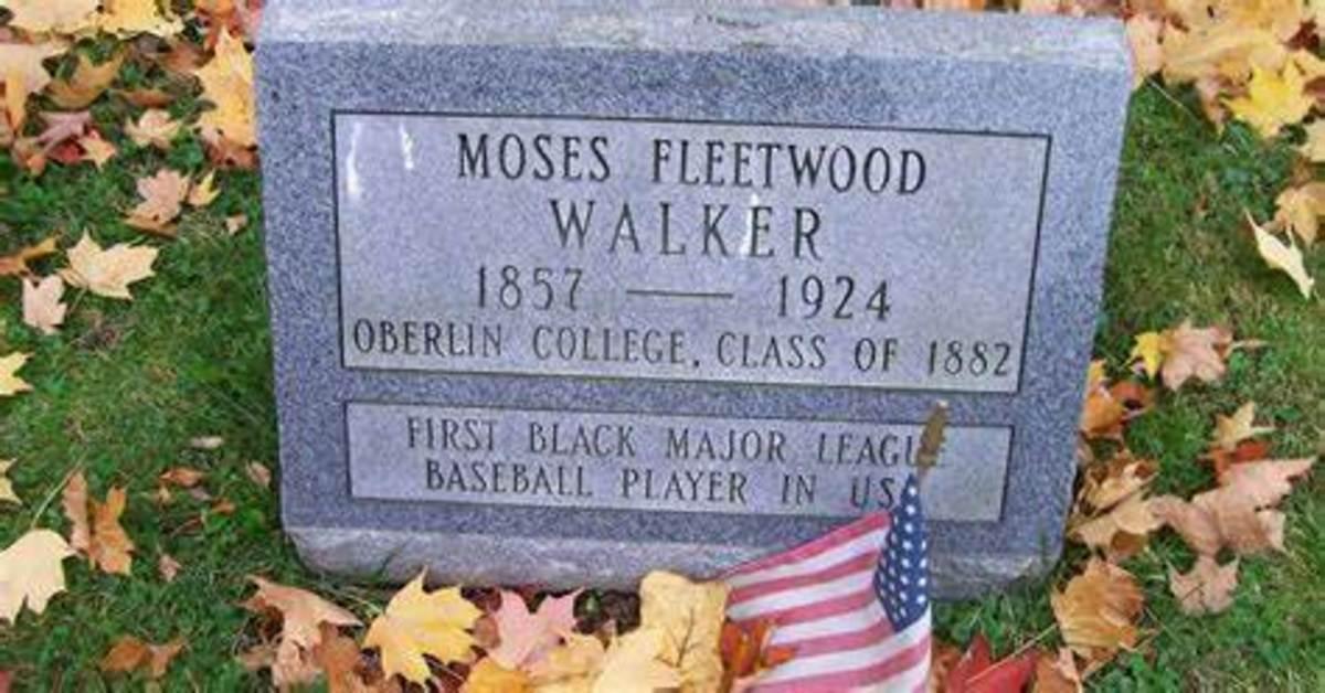 Moses Fleetwood Walker's grave marker
