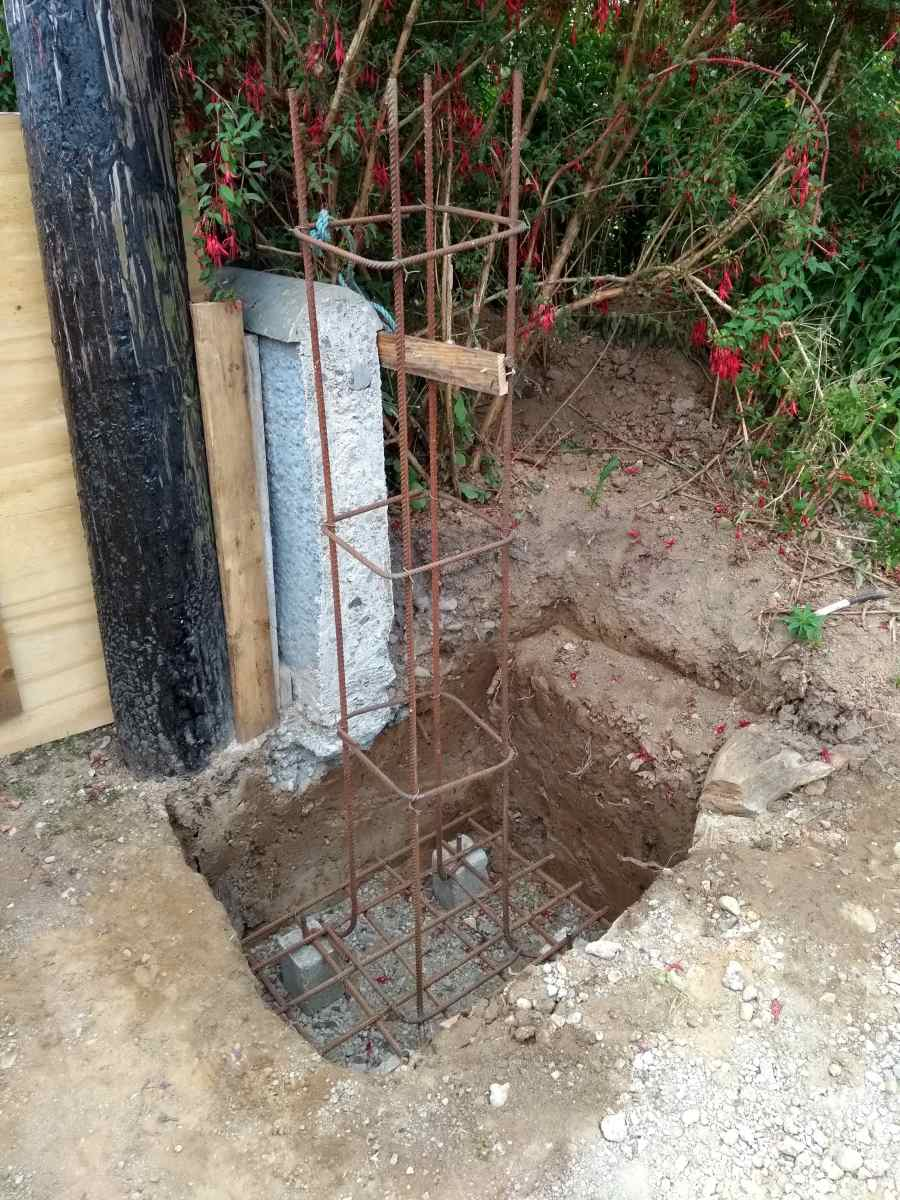 how-to-build-a-solid-concrete-gate-pier