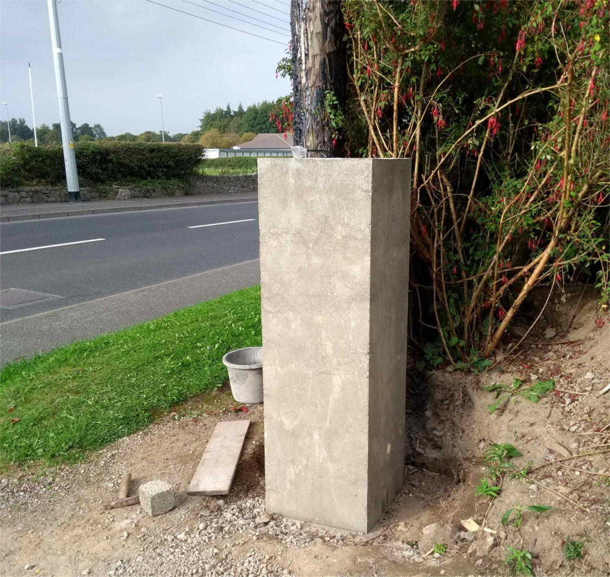 How to Build a Solid Concrete Gate Pier