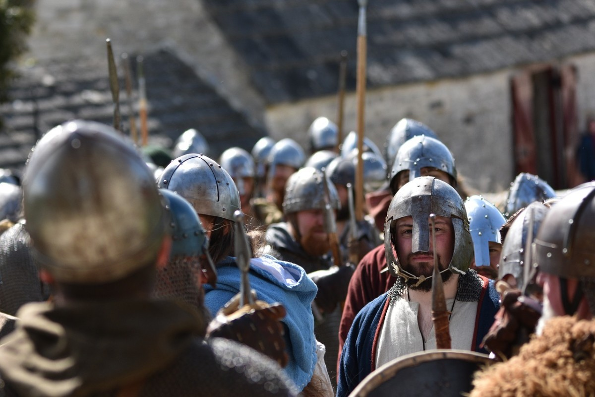 Warfare was a special area where the Danes excelled.