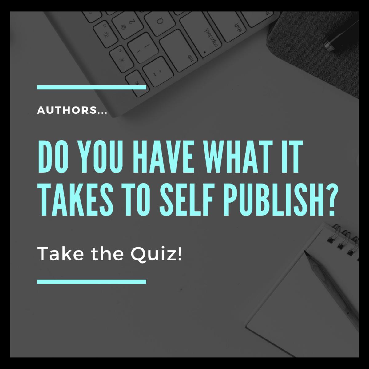 Take the self publishing quiz!