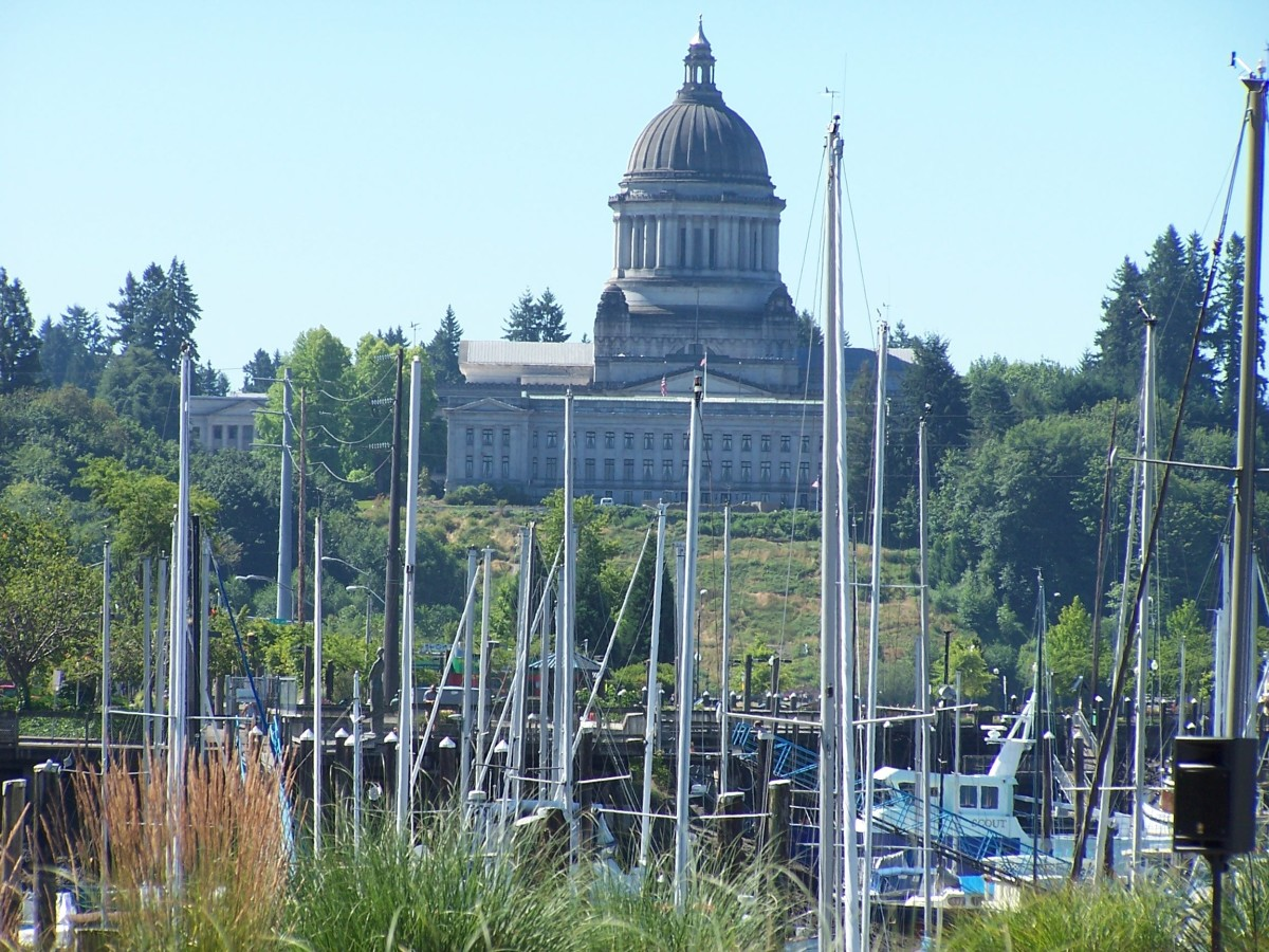 Olympia, the Capitol of the State