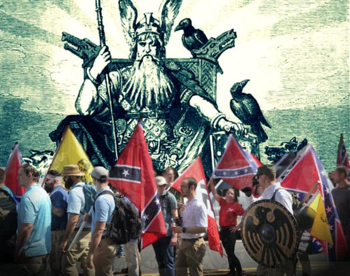 Odin overlooking the alt-right - a movement eager to appropriate him