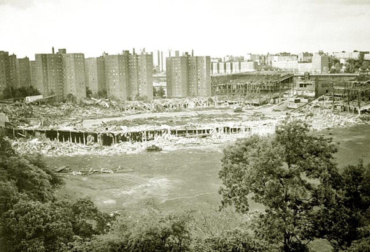 April 1964 - The Polo Grounds being torn down.