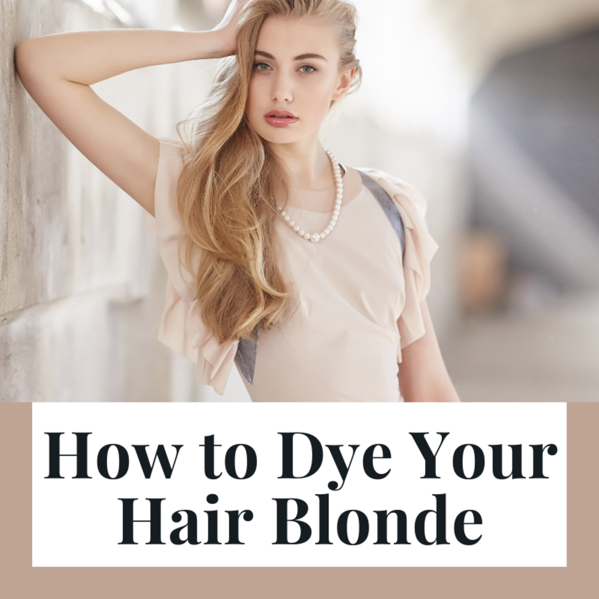 Everything you need to know to successfully dye hair blonde at home.