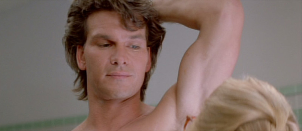 The film is the perfect vehicle for Swayze's blend of machismo and sexiness - but sadly, that's all it is.