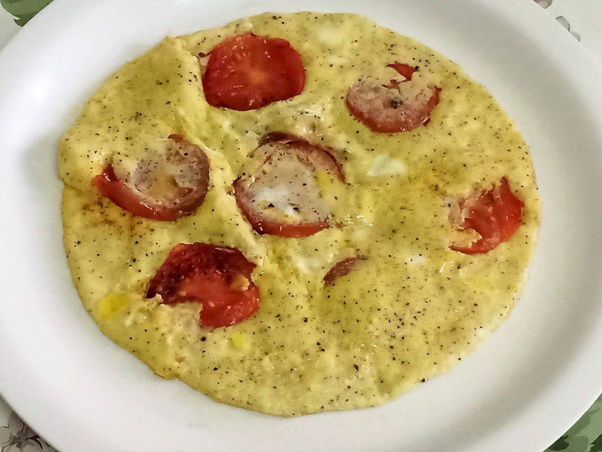 Tomato Egg Omelette