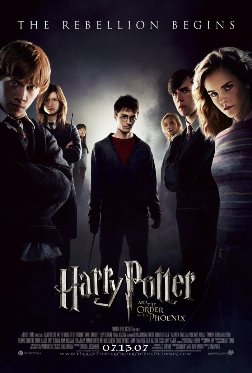 "Movie Review: ""Harry Potter and the Order of the Phoenix"""