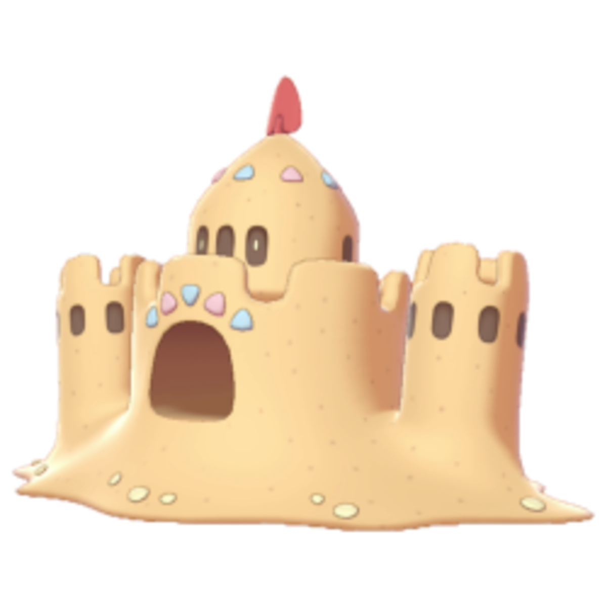 Buried beneath the castle are masses of dried up bones from those whose vitality it has drained.