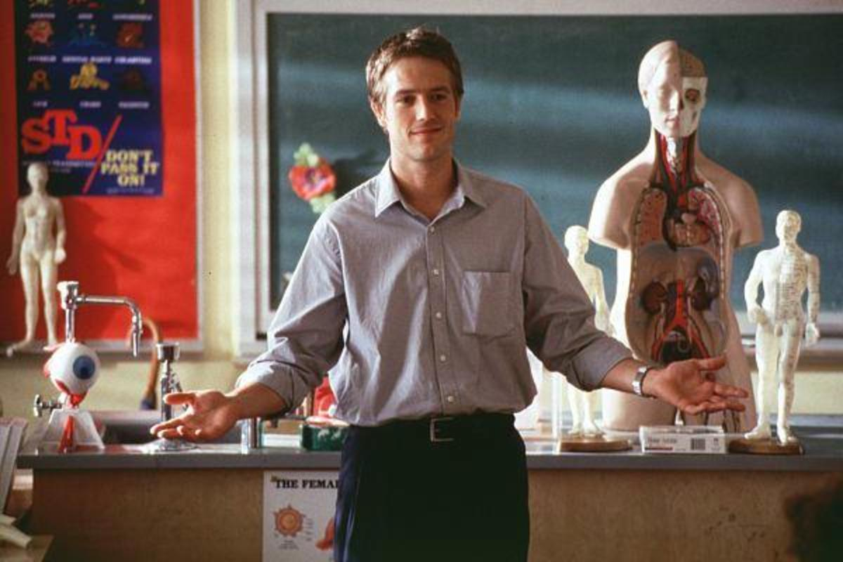 Vartan's role as teacher Sam Coulson feels creepy and inappropriate