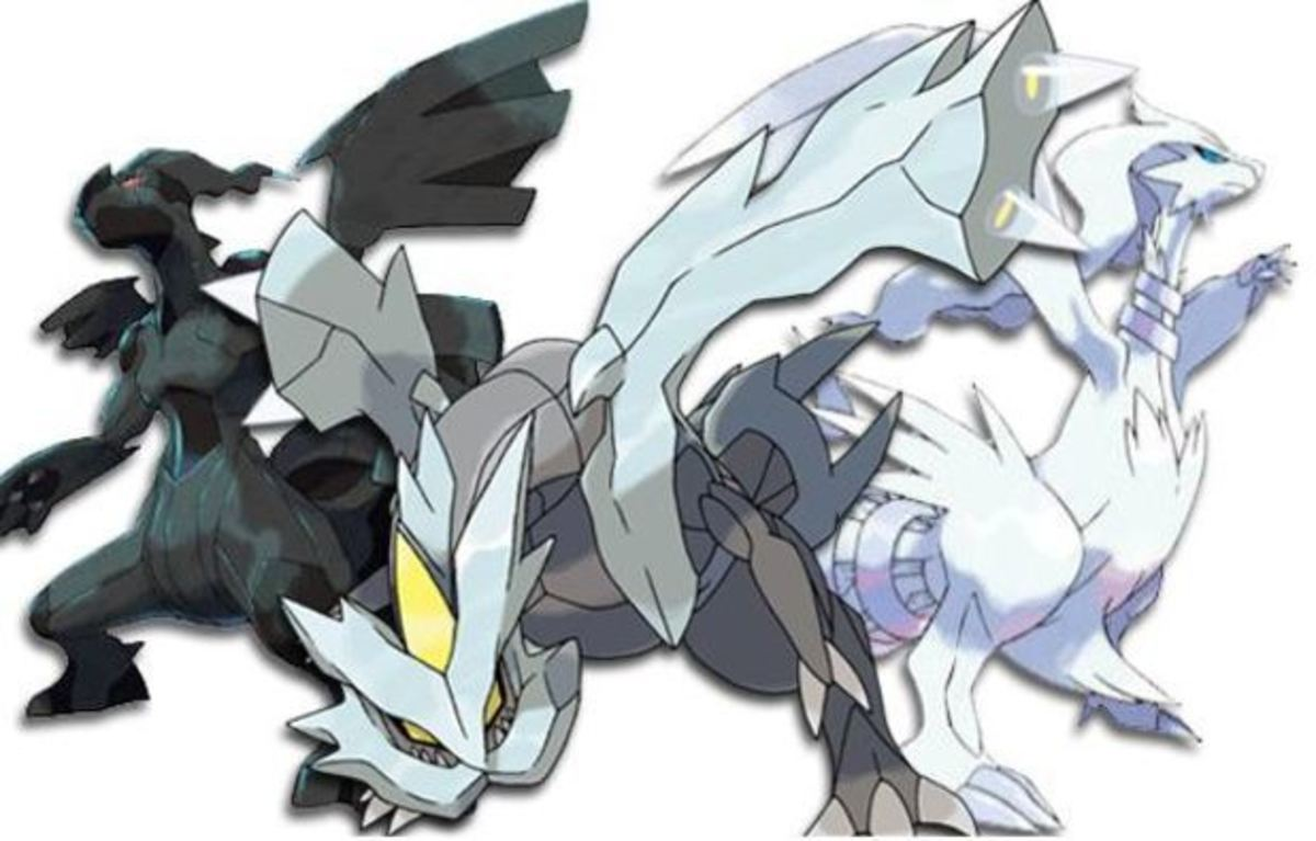 Zekrom, Kyurem, and Reshiram